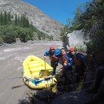 Tremendo día de rafting