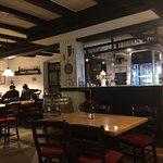Restaurant built around small bar