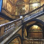 Another marble staircase
