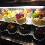 An array of beautiful cakes