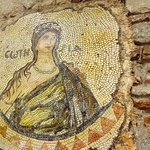 The eatery with Chora Church mosaics!