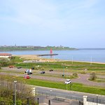 Mouth of the River Tyne viewed from Lawe Top - a short walk from South Shore