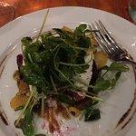 A delicious beet salad.