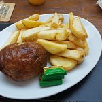 Jacket Potato With Home Made Chips