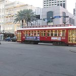 Trolley drop off * pick up in from of the JW Marriott Hotel on Canal St.