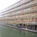 St Christopher's Canal Paris Foto