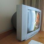 Televisor anticuado.