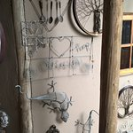 Creative wire wall hangings for sale and various gift ideas for house and garden