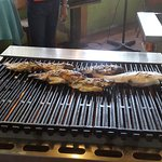 The fish grill