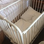 Crib available upon request