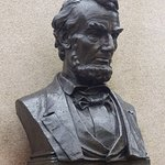 Lincoln's Gettysburg Address Memorial - The Lincoln Bust
