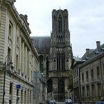 Towers of Reims Cathedral Foto