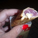 taro pie - pretty good!