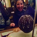 Chocolate Pinata before