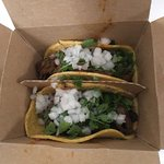 Delicious street-style tacos