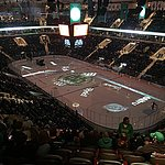 A night at the Ralph for some Fighting Sioux hockey... always an experience!