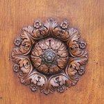 Detail of church door