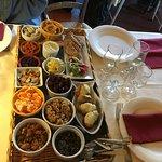 Provençal appetizers platter