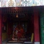 Hanuman (Bajrangbali) temple at Tiger Hill.
