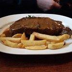 14 oz monster steak