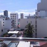 Вид с 6 этажа, номер де люкс