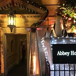 Front entrance, the Abbey Hotel, Bath