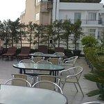 Roof top restaurant on 8th floor