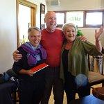 Hans und Monica Sieber mit Val Sieber