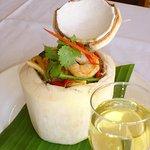 Coconut Lime Prawns