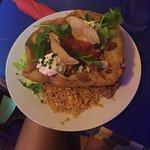 Burrito basket with chicken 😋😋😋
