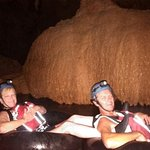 Cave tubing.