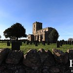 Village church, there is a lovely circular walk from the pub