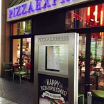 Entrance to Pizza Express at the O2