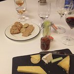 Cheese course and port