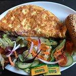 Ham omelette