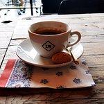 Foto van Zwartwit Koffie