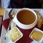 la soupe de poisson ( certainement industrielle)