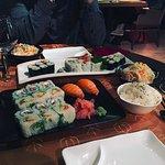 Assortiments de sushis et makis choisis à la carte
