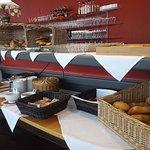 Große Auswahl beim Frühstückbuffet