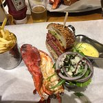 Go for the surf and turf!