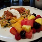 Beautiful brunch!  Chef Ricardo & the servers out do themselves!  Best omlette ever!