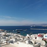 paisagem do mar egeu