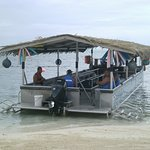 This is the boat we traveled in.....easy to get on and off.