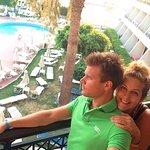 notre balcon :)