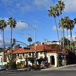 Holiday Inn Laguna Beach on east side of Pacific Coast Highway