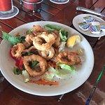 Calamari great.