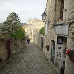 A street view in Les Baux