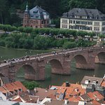 Brücke vom Schloss aus