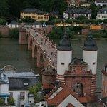 Brücke vom Kirchturm aus