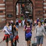 Internationale Touristen